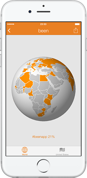 Been app by apparata spinning 3d globe gumiabroncs Choice Image